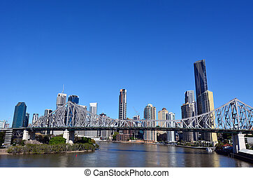 Brisbane Skyline -Queensland Australia - BRISBANE, AUS - SEP...