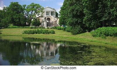 Cameron gallery. Pushkin. Catherine Park. Tsarskoye Selo. -...