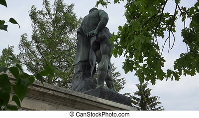 The statue from the Cameron gallery. Pushkin. Catherine Park. Tsarskoye Selo.