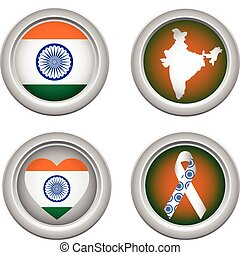 India Buttons