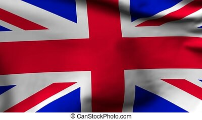 Flag of Great Britain - National flag of United Kingdom of...