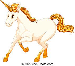 Unicorn - Illustration of a beautiful unicorn