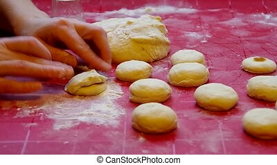 Dough for baking - Implementation of dough for baking with...