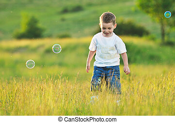 child bubble