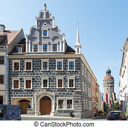Goerlitz - Historic old town of Goerlitz (Saxony, Germany)