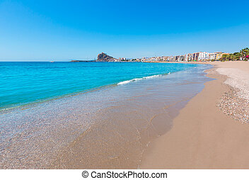 Aguilas Levante beach Murcia in Spain - Aguilas beach Murcia...