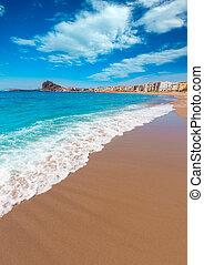 Aguilas Levante beach Murcia in Spain - Aguilas beach Murcia...