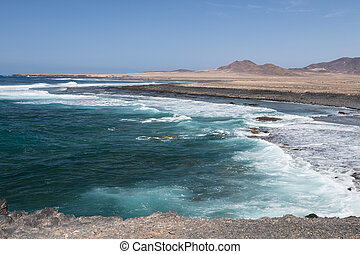 West Coast View, Fuerteventura - View to the south west...