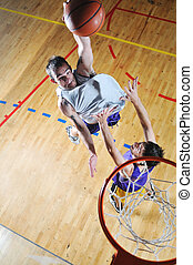 basketball competition ;) - competition cencept with people...