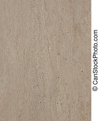 stone with stripes and pits - large polished granite slab of...