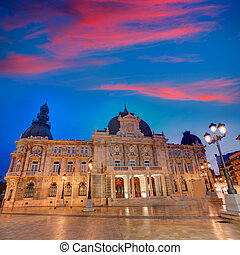 Ayuntamiento de Cartagena Murciacity hall Spain -...