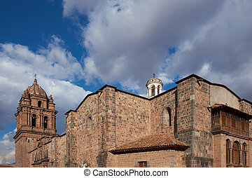 Church of Santo Domingo that sits on the site of the...