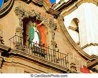 Temple of the Congregation in Queretaro, Mexico - Virgin of...