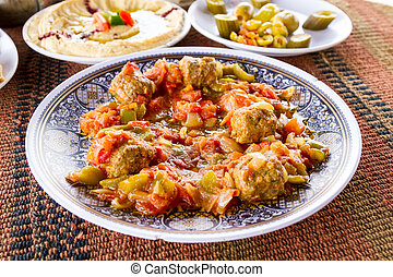 Middle Eastern food - Delicious food from the Middle East: a...