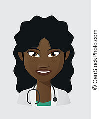 Female doctor avatar