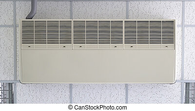 air conditioner - Air conditioner machine bottom side fixing...