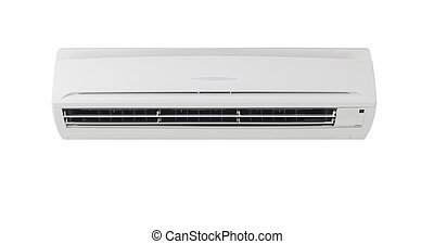 air conditioner - Air conditioner machine in isolate...