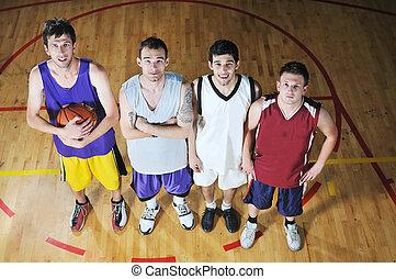 cesta, bola, Jogo, jogador, desporto, corredor