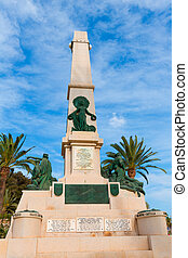 Cartagena Murcia Cavite heroes memorial in Spain - Cartagena...