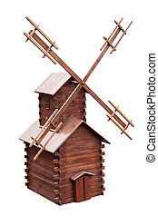 Decorative windmill for the garden