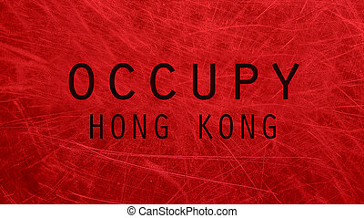 Occupy Hong Kong poster