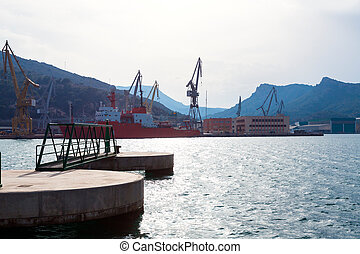 Cartagena Murcia port marina in Spain - Cartagena Murcia...