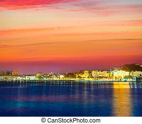 Cartagena Murcia port skyline in Spain - Cartagena Murcia...