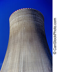 Cooling Tower on Nuclear Power Plant