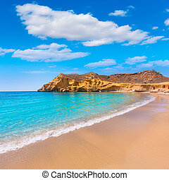 Cocedores beach in Murcia near Aguilas Spain - Cocedores...