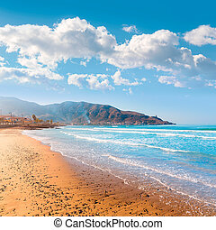 La Azohia beach Murcia in Mediterranean Spain - La Azohia...