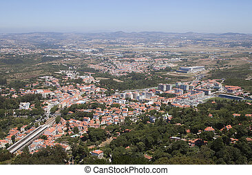 Sintra, view from above