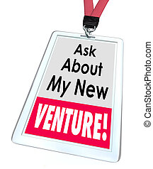 Ask About My New Venture Business Startup Enterprise - Ask...
