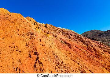 Mazarron Murcia old mine in Spain - Mazarron Murcia old mine...