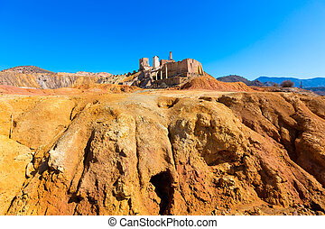 Mazarron Murcia old mine in Spain - Mazarron Murcia deserted...