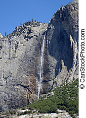 Yosemite Falls drops, 2,425 feet and is the tallest in North...