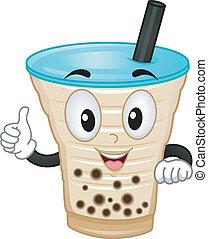 Milk Tea Mascot