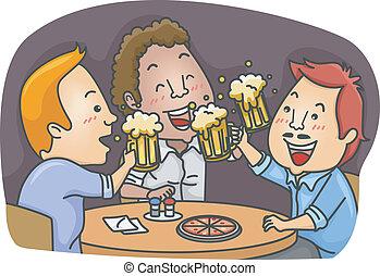 Men in a Pub