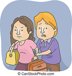 Wife Leaving Husband