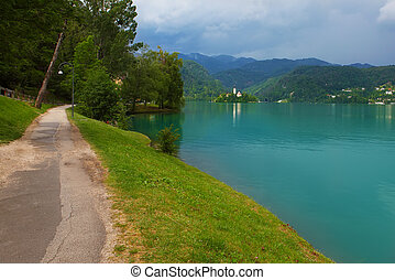 bled lake - amazing bled lake, Slovenia