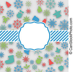 New Year greeting card with copy space for yout text