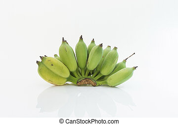 Banana isolate white background - Rip Banana isolate white...