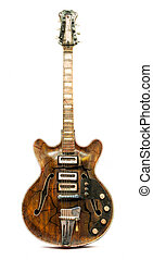 Old electric guitar