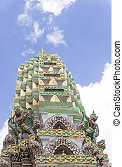 STUPA OF TEMPLE OF THAILAND