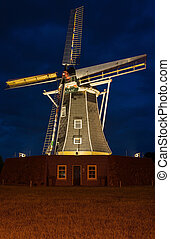 Dutch authentic renovated windmill - Authentic renovated...