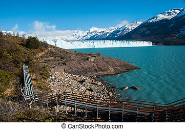 Beautiful landscapes of Perito moreno Glacier, Argentina