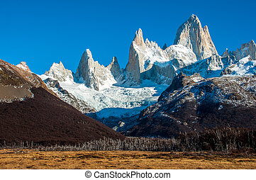 Landscapes of South Argentina, in the Fitz Roy trail.