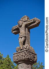 Cruz de Tejeda, mark of the centre of Gran Canaria