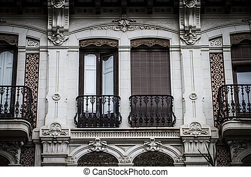 Spanish city of Valencia, Mediterranean architecture