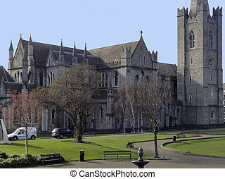 St Patricks Cathedral - Saint Patricks Cathedral in Dublin,...