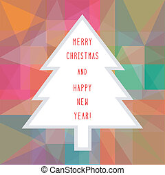 MC and HNY greeting card4 - Card for Merry Christmas and...